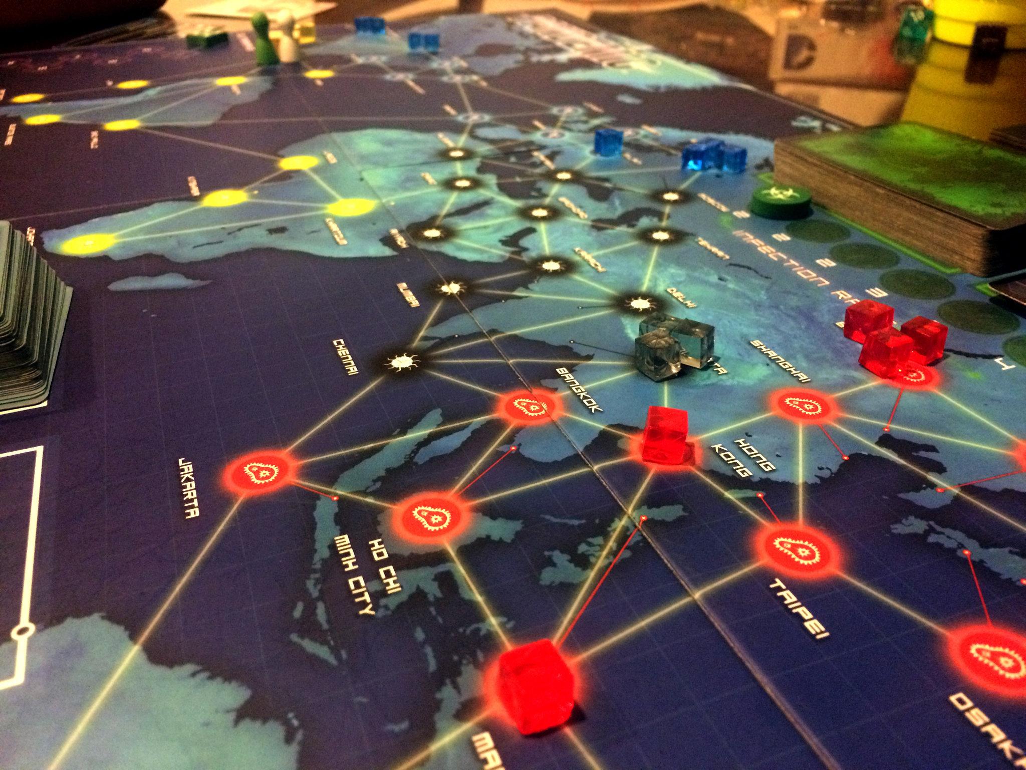 Pandemia & Juegos de mesa